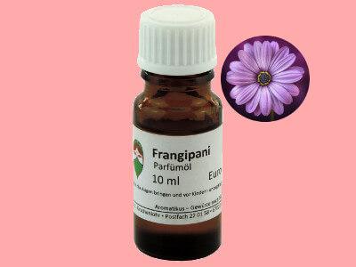 Ätherisches Duftöl Frangipani als Parfümöl von Aromatikus