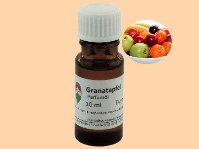 Ätherisches Duftöl Granatapfel als Parfümöl von Aromatikus