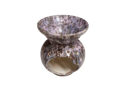 Keramik Duftlampe Leopard gesprenkelt von Aromatikus