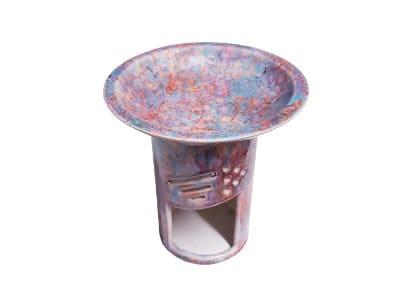 Keramik Duftlampe bunt von Aromatikus