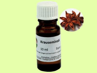 Ätherisches Duftöl Krauseminze als naturreines Öl von Aromatikus