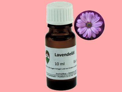 Ätherisches Duftöl Lavendel als naturreines Öl von Aromatikus