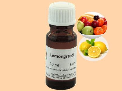 Ätherisches Duftöl Lemongras als naturreines Öl von Aromatikus