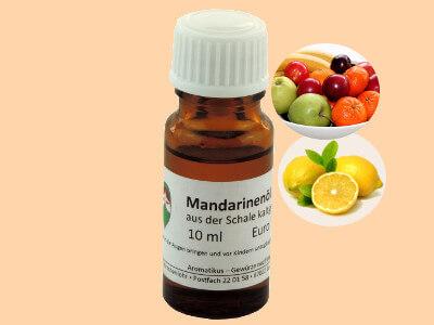 Ätherisches Duftöl Mandarine als naturreines Öl von Aromatikus
