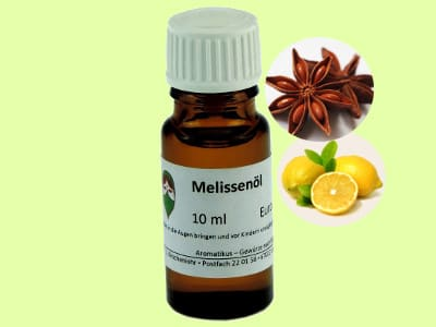 Ätherisches Duftöl Melisse indicum als naturreines Öl von Aromatikus