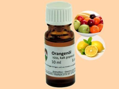 Ätherisches Duftöl Orange als naturreines Öl von Aromatikus