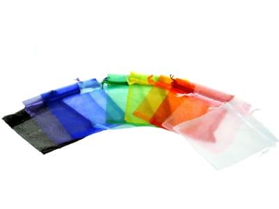 Organzabeutel für bis zu drei ätherische Öle in verschiedenen Farben 10x15cm von Aromatikus