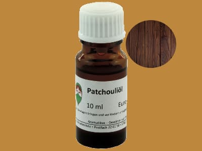 Ätherisches Duftöl Patchouli als naturreines Öl von Aromatikus