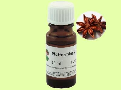 Ätherisches Duftöl Pfefferminze als naturreines Öl von Aromatikus