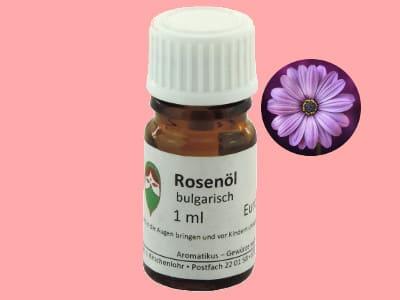 Ätherisches Duftöl Rose absolue als naturreines Öl von Aromatikus