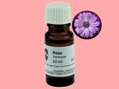 Ätherisches Duftöl Rose als Parfümöl von Aromatikus