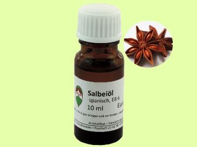 Ätherisches Duftöl Salbei als naturreines Öl von Aromatikus