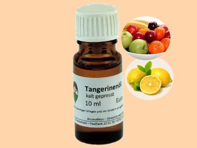Ätherisches Duftöl Tangerine als naturreines Öl von Aromatikus