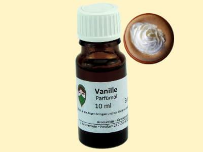 Ätherisches Duftöl Vanille als Parfümöl von Aromatikus