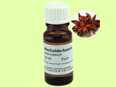 Ätherisches Duftöl Wacholderbeer als naturreines Öl von Aromatikus