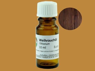 Ätherisches Duftöl Weihrauch Olibanum als naturreines Öl von Aromatikus