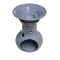 Keramik Duftlampe hellblau von Aromatikus